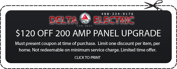 Amp Panel Upgrade Coupon for San Jose