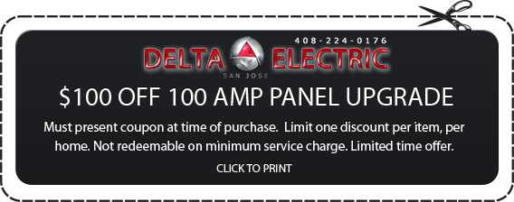 San Jose Amp Panel Upgrade Coupon